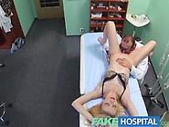 Fakehospital Doctors Oral Massage Gives Skinny Blonde Her First