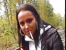 Hot Babes Smoking In Leather Compilation