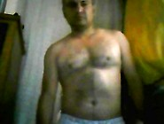 Hot Latin Daddy Streaping And Jerking Off