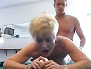 Dirty Grandma Fucking With A Younger Dude