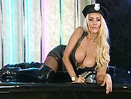 Bimbo Lucy Zara Chat On Tv 10 Cop Leather