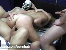 Puta Locura Amateur Teen In 1St Gangbang