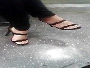 Candid Milf Feet In High Heels - Gorgeous Toes (Teasing)
