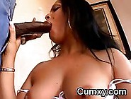 Phat Ass Latina Sucking Bbc And Pussy Rammed