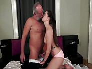 Grandpa Is Having His Way With A Sexy Little Big Ass Teen Girl