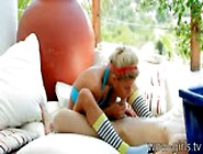 Tiny Little Blonde Babe Girl Stephanie Sucks And Fucked Outdoor
