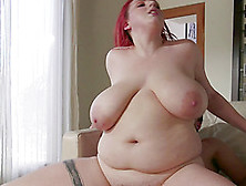 Plump Babe Kamille Amora Bends Over For An Erected Penis