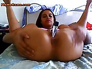 Ebony Amateur Teases In Her Underwear And Rides A Big Toy