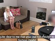 Fakeagentuk Sleaze Blonde Innocent Dilettante Tricked In Casting