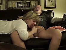 Mature Woman Speaking And Sucking Dick