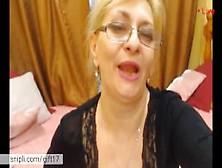 Hot Mature Milf Teasing You On Webcam.  Hot Mom