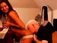Pervert Old Man Full Length Latoya Makes Clothes,  But She Lo