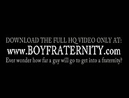 Coeds Playing Gay Sex Games In Fraternity Ritual