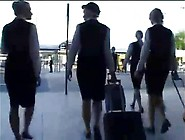 Busty Stewardess