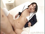 School Girl Fantasy Featuring Japanese Iku Natsumi And Her Sweet