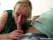 Cock Hungry Mom Jumps On Her In-Law Cock