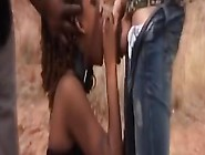 Punishing The African Female Slave Outdoors With Some Bdsm Play