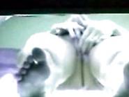 Voyeur Camera - Mulher Pelada Se Masturba No Bronzeamento Flaga