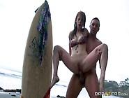 Bikini-Clad Surfer Girl Penny Pax Sia
