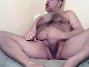 Massive Coach's Hairy Penis Masturbation