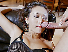 Sexy Asian Chick Getting The Hardcore Drilling That's Hard To Fo