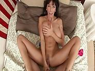 Crazy Pornstar Alia Janine In Incredible Anal,  Brunette Porn Vid