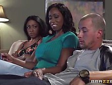 America Moore Threesome With Anya Ivy And Her Man