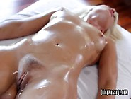 Anikka Gets Oiled Downed Then Rubbed On Her Pussyte02. Wm