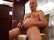 Ulf Larsen Watching Porn,  Wank,  Orgasm & Ejaculate