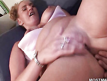 Passionate Mature Gets Finger Rammed