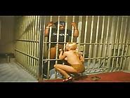 Blonde Suck Black Cock In Jail + Threesome