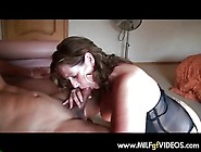 How Mature Milf In Black Lingerie And Hills Sucking Cock