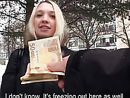 Huge Boobs Czech Slut Picked Up And Fucked For Cash