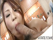 Jamming Huge Tits Asian Chick