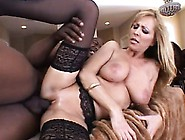 Lustful Cougar With Big Natural Boobs Nicole Moore Loves Black M