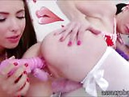 Anal Princesses Veruca James And Casey Calvert Toying Asses