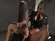 Police Officer Esperanza Gomez Fucked By A Huge Cock Suspect