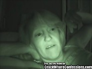 Nasty Old Night Vision Crack Whore Blowjob