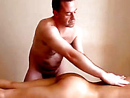 Masseur Gives & Recieves Oral Sex From Hot Milf During Eroti