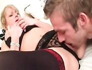 Filthy Talking Mature British Mom Gets A Massive Creampie From H