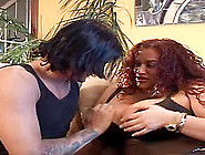 Milf With Amazing Curves Covered In Cum After Bending Over For A
