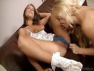 Stunning Babes Cherie Deville & Presley Hart Have Lesbian Se