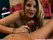 Big Boobed Mommy Robbye Bentley Finally Gets Big Dick In Her Mou