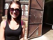 Hot Girl Lost In Industrial Area Fucks Stranger