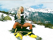 Vivacious Blonde Rides A Cock Outdoors In An Extreme Outdoors Sh