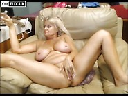 Mature Wife Stretching Her Pussy Wide Open In Webcam Masturbatio