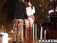 Krakenhot - Submissive Schoolgirl Spanked In A Bdsm Scene