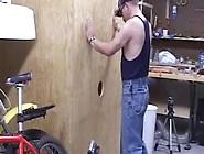 Amateur Gay Guy Sucks Gloryhole Dick