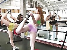 Hardcore Doggystyle Fucking Against The Mirror For Courtney Cumm