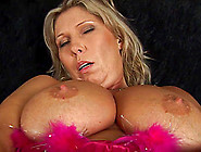 Extreme Big Natural Breast Chubby Horny Mom Alone At Home